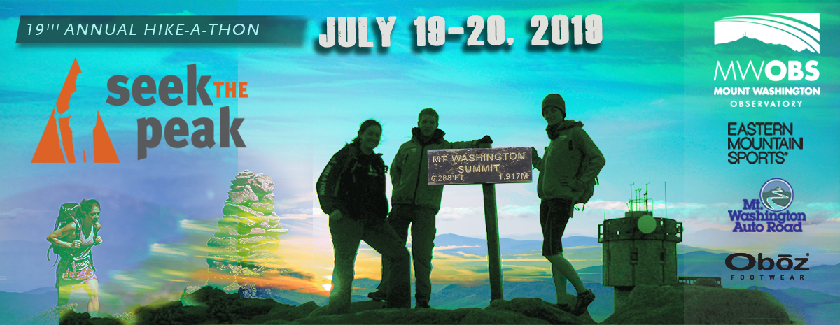 Seek the Peak Hike-a-thon - July 19-20, 2019